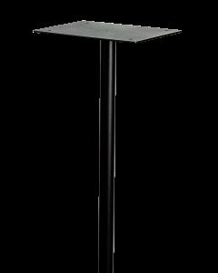 Letterbox Pole - Black